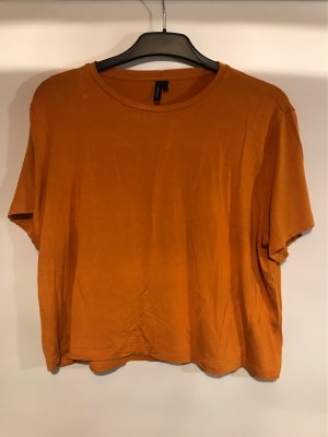 Vero Moda Cropped shirt neonoranje