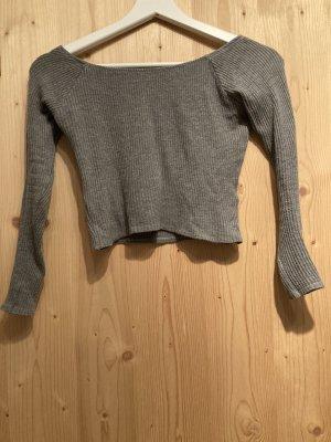 Pull & Bear Shirt basique gris