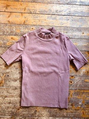 Ribbed Shirt dusky pink-pink