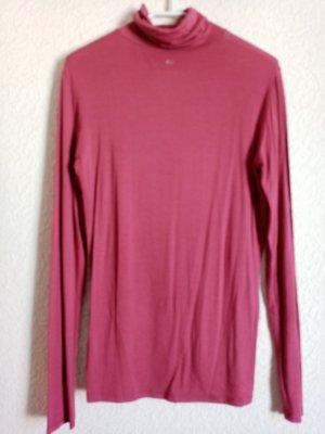 Camisa de cuello de tortuga rojo zarzamora