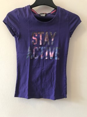 active Sports Shirt dark violet