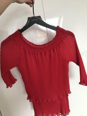 Risskio Carmen Shirt red