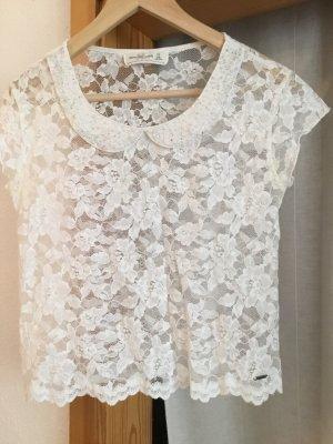 Shirt abercrombie & fitch Perlen Spitze