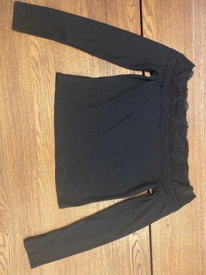 H&M Divided Koszula typu carmen czarny