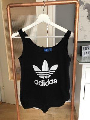Adidas Muscleshirt zwart