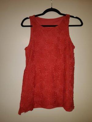 Amisu Crochet Shirt red