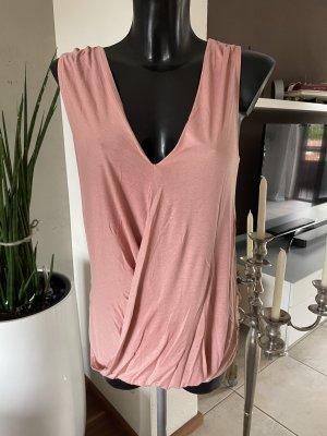 Impressionen Maglietta aderente color oro rosa Viscosa