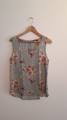 Shirt ärmelos mit Rosenprint
