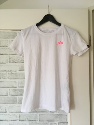Alpha Industries Camiseta blanco