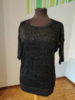 Shirt Amisu Knitwear, Gr. XS, Pullover dünn, dünner Pulli, Feinstrick, Glitzer
