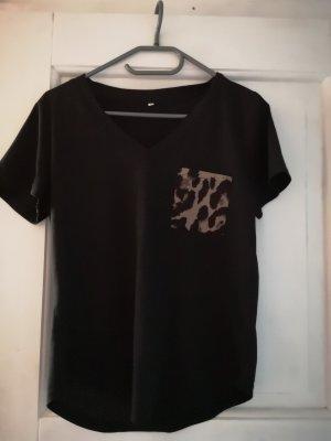 Shirt Animal Tasche Leo