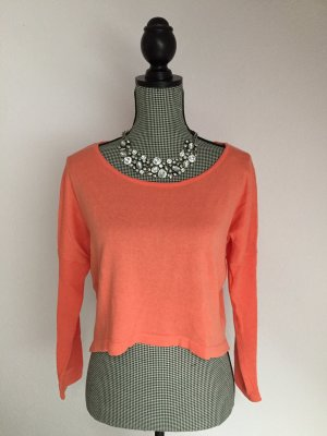 24Colours Knitted Jumper orange