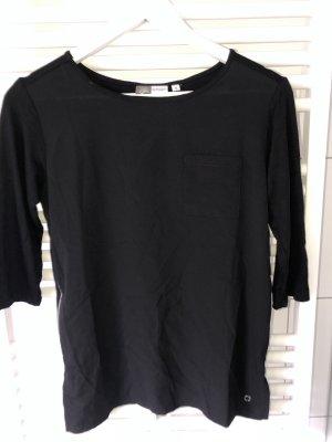 Blue Motion Koszula typu carmen czarny