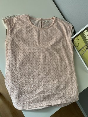 Basefield Crochet Shirt pink-light pink