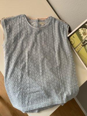 Basefield Crochet Shirt light blue-baby blue