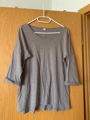 Shirt Basic 38/M s. Oliver beige Damen