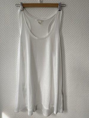Lange top wit