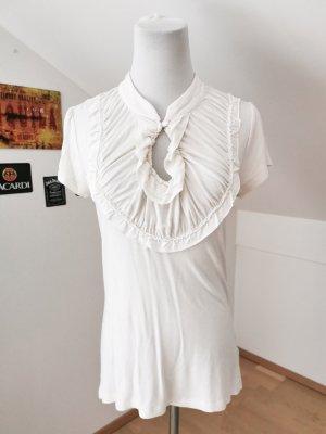 Shirt Baumwolle Creme weiß 3 Suisses