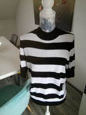 Esmara Knitted Jumper white-black