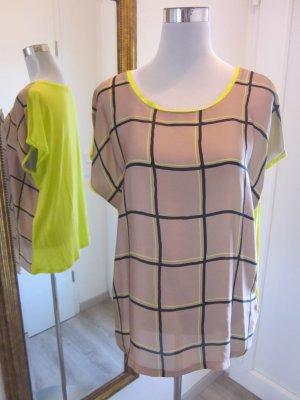 Shirt  Beige Gelb  Gr.42/44 Esprit