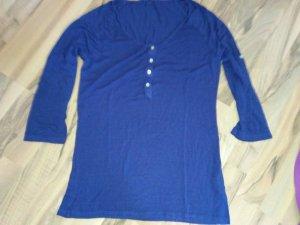 B.young T-shirt bleu foncé-violet foncé viscose