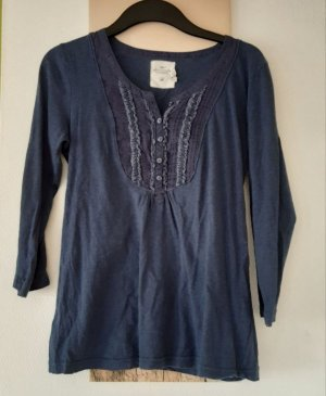 H&M Shirt Tunic blue