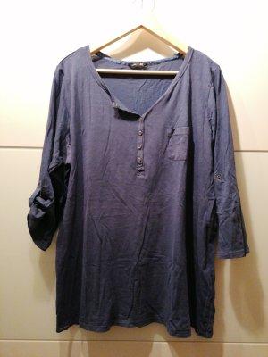 Shirt blau Oversized