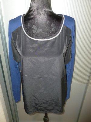 Shirt blau schwarz Promod