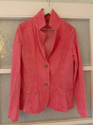 American Vintage Blazer sweat rose-rouge framboise