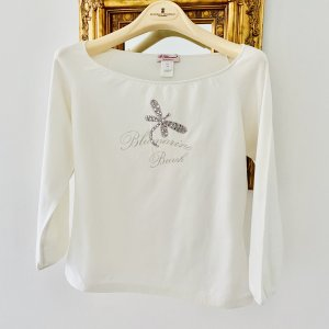 Blumarine T-Shirt natural white