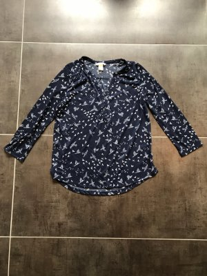 H&M Camicetta da notte blu scuro
