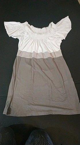 Shirt/ Bluse/ Kleid, tailliert in beige