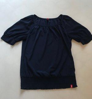 Shirt / Bluse Kurzarm, ESPRIT (edc), Blau, Gr. S (36) *neuwertig*