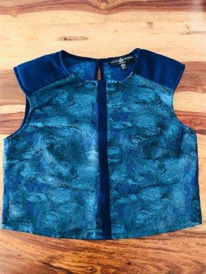 Shirt/ Bluse Little Mistress Gr 38, blau, neu