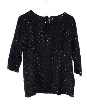 Shirt Bluse / Promod / 40 / Punkte vintage