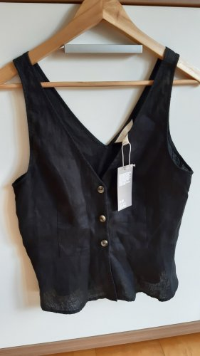 H&M Camicia a tunica nero