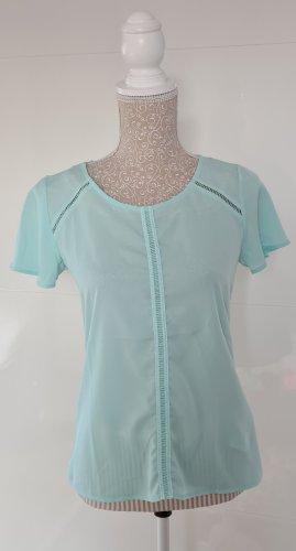 Shirt Bluse - Türkis - Größe 36 S - Neuwertig - Orsay