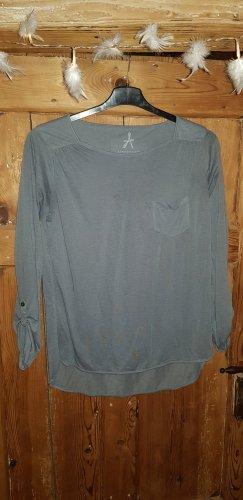Atmosphere Camisa de manga larga gris claro-gris