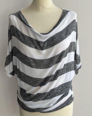 Colloseum Cowl-Neck Shirt grey-white
