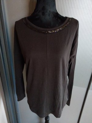 Shirt braun Pailletten QS by s.Oliver Neu
