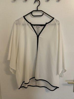 Ann Christine Top extra-large blanc-noir