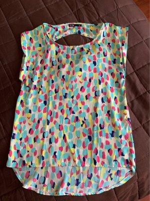 Batik shirt veelkleurig