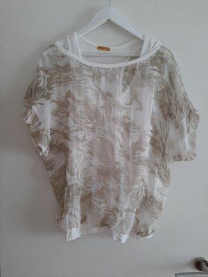 Chilli Shirt Tunic white-gold-colored