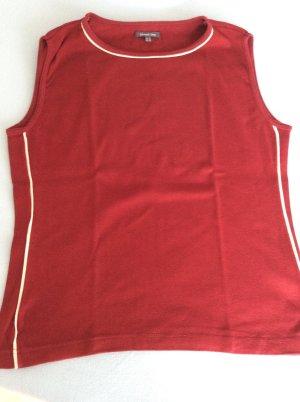 Street One Koszulka basic głęboka czerwień
