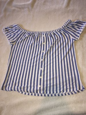 Lascana Carmen Shirt white-blue