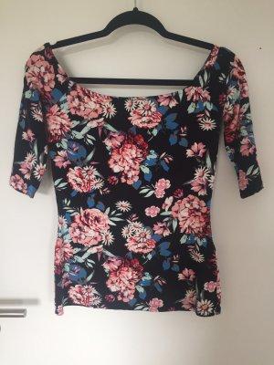 Shirt Carmenshirt Blumenmuster floral