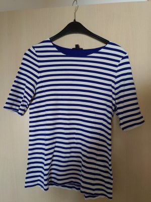 COS T-Shirt white-blue