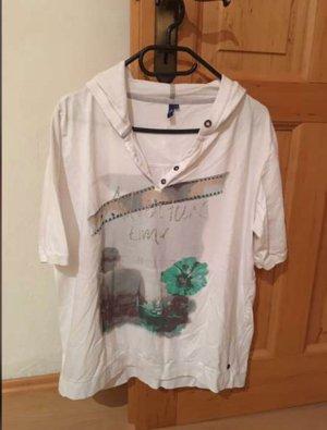 Shirt met capuchon wit
