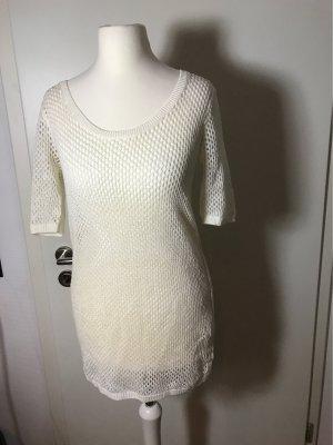 Club Monaco Crochet Shirt white
