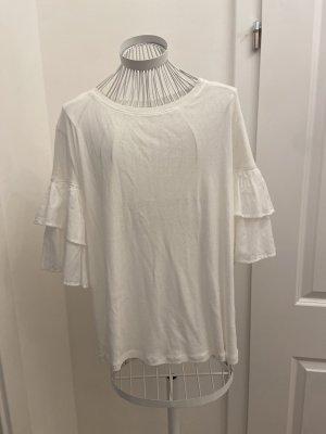 H&M Camisa holgada blanco